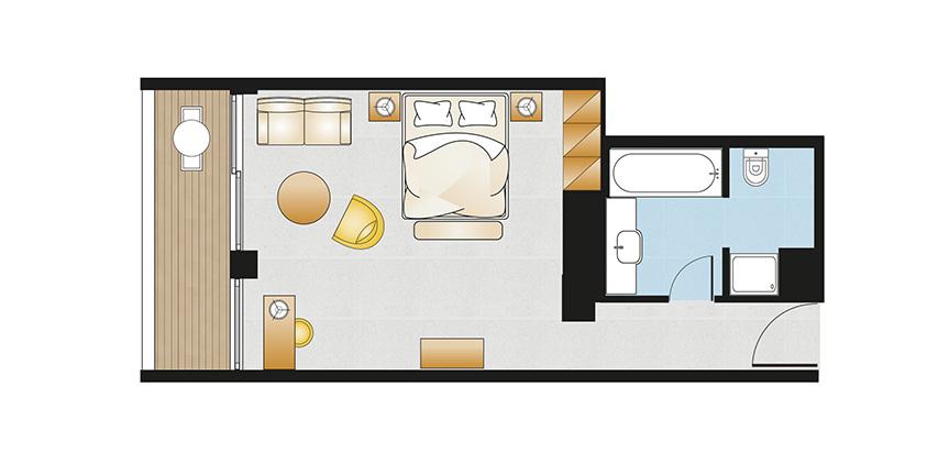 Vouliagmeni-Suites-Sea-View-Premium-Deluxe-Guestroom-Floorplan