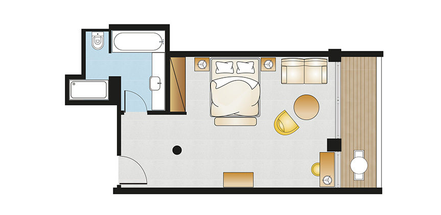 Vouliagmeni-Suites-Sea-View-Junior-Suite-Floorplan